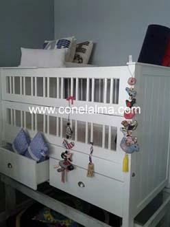 Muebles infantiles y juveniles con el alma blanco for Muebles infantiles y juveniles en mendoza